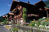 Farmhouse, Beatenberg near Interlaken, Bernese Oberland, Canton of Bern, Switzerland