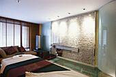 The treatment room in Banyan Tree Spa Hotel, Wellness, Holiday, Relaxation, Bangkok, Thailand