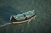 Boat, Dschunke of the Peninsula Hotel, Sea, Transport, Bangkok, Thailand