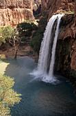 Havasu falls, Havasupai Indian Reservation, Grand Canyon National Park, Arizona, US