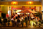 Dining on 5th Avenue, Naples, Florida, USA