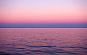 Dawn sunset over ocean, Mexico, Pacific ocean
