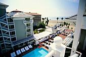 Luxury Hotel Shutters On The Beach, Santa Monica, L.A., Los Angeles, California, USA
