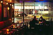 Restaurant Afterglo, South Beach, Miami, Florida, USA