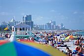 Beach, South Beach, Miami, Florida, USA