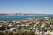Gorgeous Sunny Auckland, View from Mt. Victoria, Devonport, Auckland, North Island, New Zealand