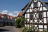 Quaint Timberframe Houses, Schlitz, Vogelsberg, Hesse, Germany
