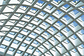 Roof of a shopping center, Berlin, Germany