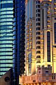 Modern Buildings in Doha, Qatar