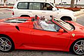 Ferrari Driver in Doha, Qatar