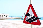 A Sign in Doha, Qatar