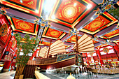 Ibn Battuta Mall, China Court with Chinese Junk, Dubai, United Arab Emirates, UAE