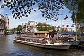 Excursion Boat, Amstel, Amsterdam, Netherlands