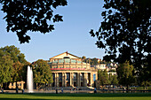 Staatstheater, Schloßgarten, Stuttgart, Baden-Württemberg, Deutschland