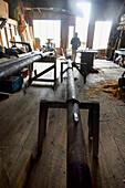 Inside the Shipbuilding Museum, Essex, Massachusetts, United States (USA)