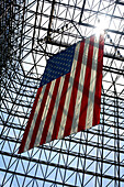 Stars and Stripes, Flag of the United States of America, John F Kennedy Library, Boston, Massachusetts, USA