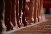 Start, 100 m sprint