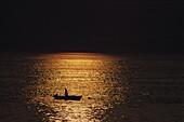 Boat in the dusk