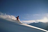 Skier, Hochfuegen, Austria