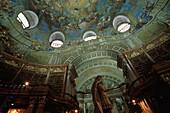 Austrian National Library, Oesterreichische Nationalbibliothek, Wiener Hofburg, Wien, Austria