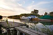 Backwater, Lieper Winkel, Usedom, Baltic Sea, Mecklenburg-Western Pomerania, Germany