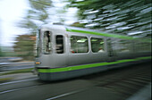 public transport, moving tram, üstra, Hanover's public transport authority