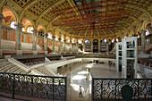 Central hall, Palau Nacional, Museu Nacional d Art de Catalunya, MNAC, museum of art, Montjuic, Barcelona, Catalonia, Spain