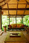 Relaxation room, Spa, in Hotel Rayavadee, Hat Phra Nang, Krabi, Thailand