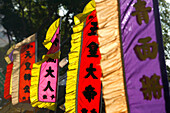 Chinatown banners, Singapore