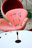 Design furniture, Lorgans 70s Retro Shop, Singapur