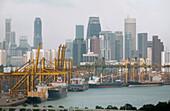 The Port of Singapore, Singapore