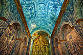 Inside Sao Lorenco Church, Faro, Algarve, Portugal