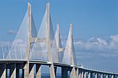 Bridge Vasco da Gama, Tajo, Lisbon, Portugal