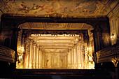 Baroque theater, Cesky Krumlov, Krumau, Czech Republic