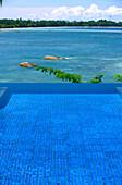 Infinity pool, Banyan Tree Resort, Bintan Island, Indonesia