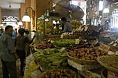 Vegetable Stand, Port Louis Central Market, Port Louis, Port Louis District, Mauritius