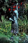 Figure, Overbeck's Museum & Garden, Sharpitor, Salcombe, Devon, England, United Kingdom