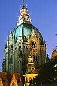 New City Hall, Hanover, Lower Saxony, Germany