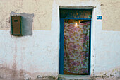 Entry of a house in Taghit, oasis city, Algeria