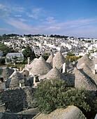 Trulli (typical dwellings). Alberobello. Italy