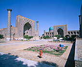 The Registan. Samarkand. Uzbekistan