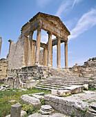 Roman ruins. Dougga. Tunisia