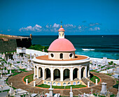Old cemetery, Fortress of El Morro. San Juan. Puerto Rico