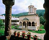 Horezu fortified monastery. Wallachia. Romania