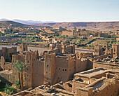 Ait Benhaddou kasbah. Ouarzazate region, Morocco