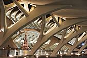 City of Arts and Sciences built by Calatrava, Valencia. Comunidad Valenciana, Spain