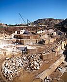 Marble quarry. Vila Viçosa. Alentejo, Portugal.
