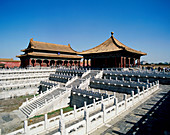 Hall of Middle Harmony (Zhonghedian). Forbidden city. Beijing. China