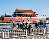 Gate of Heavenly Peace. Tiananmen Square. Beijing. China.