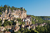 Rocamadour. Quercy. Lot. France.